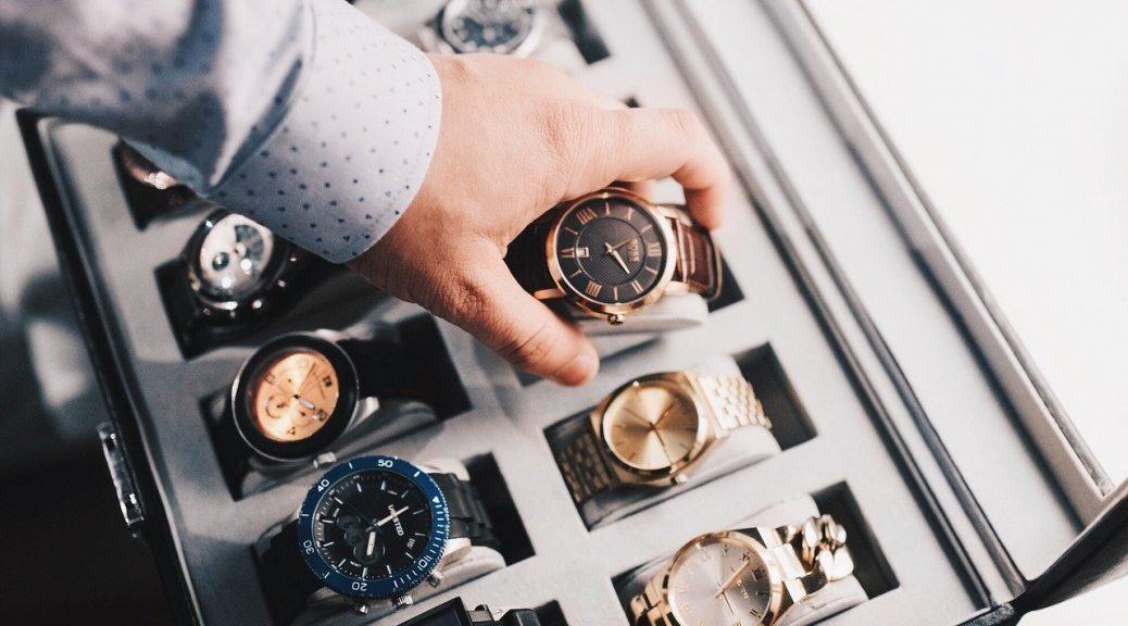 boite de rangement montre