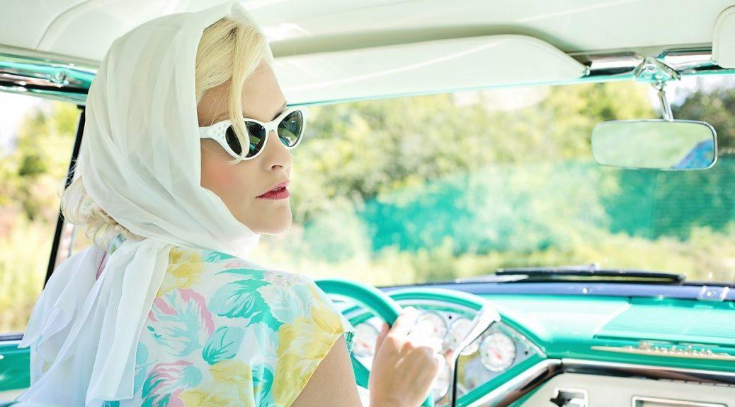 femme au style vintage